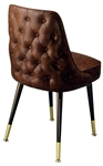 Tufted Back Club Chair