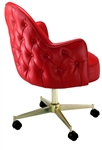 Tufted Arc Premier Swivel Chair