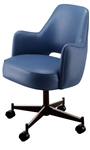 Cutout Wing Premier Swivel Chair