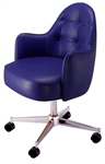 Interior Tufted Arc Premier Swivel Chair