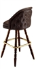 Tufted Wide Colonial Bar Stool