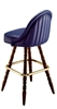 Channeled Scoop Colonial Bar Stool