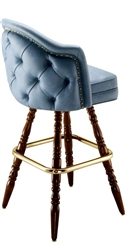 Deluxe Wing Colonial Bar Stool