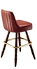 Channeled Colonial Bar Stool