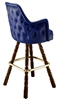Deluxe Wing Mediterranean Bar Stool