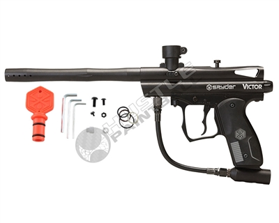 Kingman Spyder Victor Paintball Marker - Black