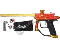 Azodin Blitz III Electronic Paintball Marker - Orange/Yellow