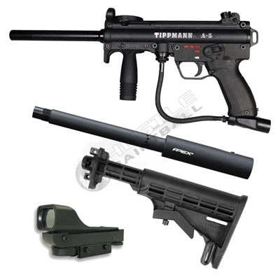 Tippmann A5 Hall Effect E-Grip Assassin Pack