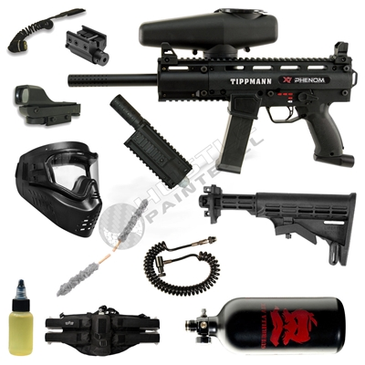 Tippmann X7 Phenom Giant N2 Pack