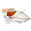 Virtue Paintball Spire Electronic Loader - White/Orange