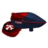 Virtue Paintball Spire Electronic Loader - Russian Legion - Red