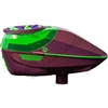 Virtue Paintball Spire Electronic Loader - Gloss Magenta/Lime Crown 2.5