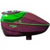 Virtue Paintball Spire 260 Electronic Loader - Gloss Magenta/Lime Crown 2.5