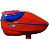 Virtue Paintball Spire 260 Electronic Loader - Gloss Red/Blue w/ Crown 2.5