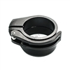 Dye Precision/Proto Paintball Collar w/Lever - Black/Black