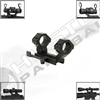 NCStar Weaver Rail Cantilever Mount w/ Quick Release and Detachable Rear Ring - AR-15/M16