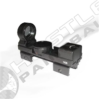 Tiberius Arms Open Dot Sight (Dual Illumination)