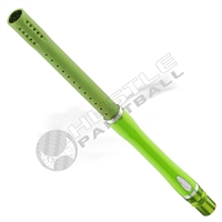 Dye Precision Glass Fiber Boomstick Barrel - Autococker - 15 inch - Lime/Silver