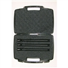 Lapco AccuShot 3 Barrel Kit with Case - A5/X7/Phenom/BT-4 - 0.690, 0.687, 0.684 - 14 inch - Bead Blasted Black