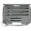 Lapco AccuShot 3 Barrel Kit with Case and Air Cooled Machine Gun Shroud - Spyder - 0.690, 0.687, 0.684 - 14 inch - Bead Blasted Black