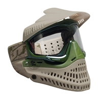 JT Spectra ProFlex Thermal Paintball Goggles - LE - Tan/Green