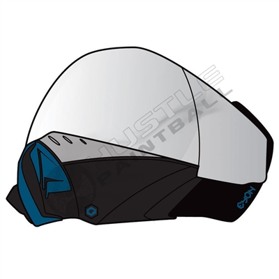 C2 Paintball Mask - Eyon - Black/Blue