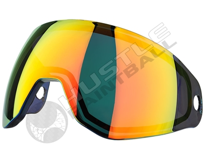 HK Army KLR Thermal Paintball Pure Lens - Mirror - Scorch Red