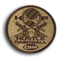 Hustle Paintball Tactical Patch (3 inch) - Multicam
