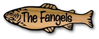 CUSTOM WOOD SIGN FAMILY LEGACY FISH