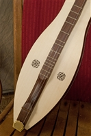 "Roosebeck ""Emma"" Mountain Dulcimer, 4 String, Knotwork"