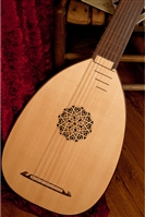 Roosebeck Deluxe 7-Course Lute, Canadian Spruce