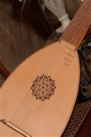 Roosebeck Deluxe 8-Course Lute, Canadian Cedar, Padded Nylon Case