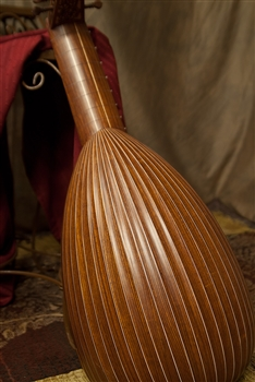 Roosebeck Deluxe 8-Course Lute, Canadian Spruce