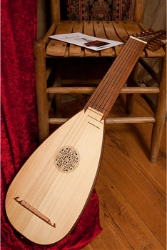 Roosebeck 7-Course Travel Lute