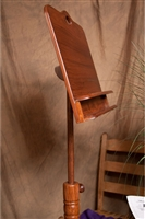 Roosebeck Colonial Wooden Music Stand, Double Shelf