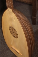Roosebeck Deluxe 6-Course Lute, Walnut & Canadian Spruce
