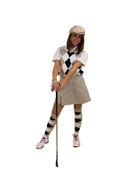Women's Solid Golf Skirts