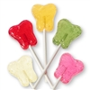 Inspired Sweets Fresh Fruits Collection Tooth Shaped Lollipops