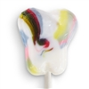 Inspired Sweets Radiant Rainbow Tooth Shaped Lollipops