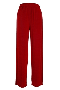 Pants - cranberry - acetate/spandex
