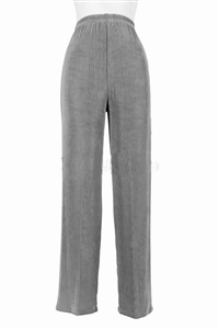 Pants - grey - acetate/spandex