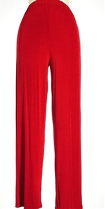 Pants - red - polyester/spandex