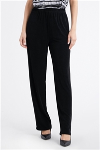 Pants - black  - acetate/spandex