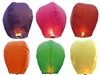 COLORED SKY LANTERN