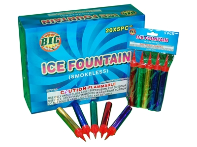 ICE FOUNTAIN - SMOKELESS