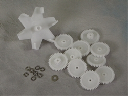 A&A Manufacturing Top Feed Gear Kit # 522634