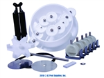 A&A Manufacturing 5-Port Top Feed T-Valve Retrofit Kit # 540251