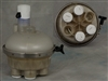 "A&A Manufacturing 1.5"" 2-Port Top Feed T-Valve # 545625"