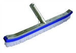 Poolstyle 18in Metal Back Nylon Brush # PS025
