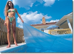 18x36 Rectangle Solar Pool Cover #SB1836